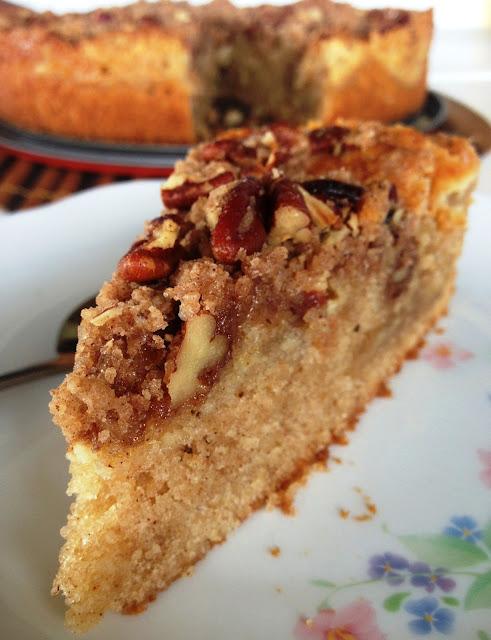 sweet kwisine, coffee cake, cannelle, gâteau, pâtisserie,noix de pécan