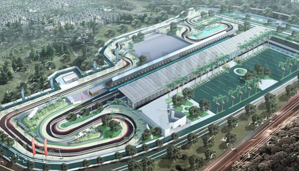 Sirkuit Megah akan Bersanding dengan Stadion GBLA