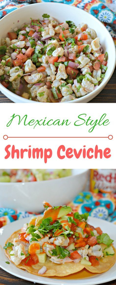 The Best Ever Mexican-Style Shrimp Ceviche Recipe