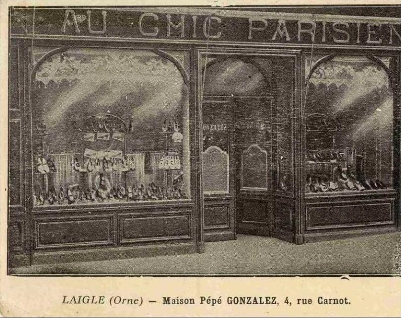 commerces immarcescibles au chic parisien l 39 aigle. Black Bedroom Furniture Sets. Home Design Ideas