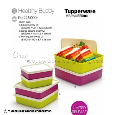 Healthy Buddy ~ Katalog Tupperware Promo Mei 2016