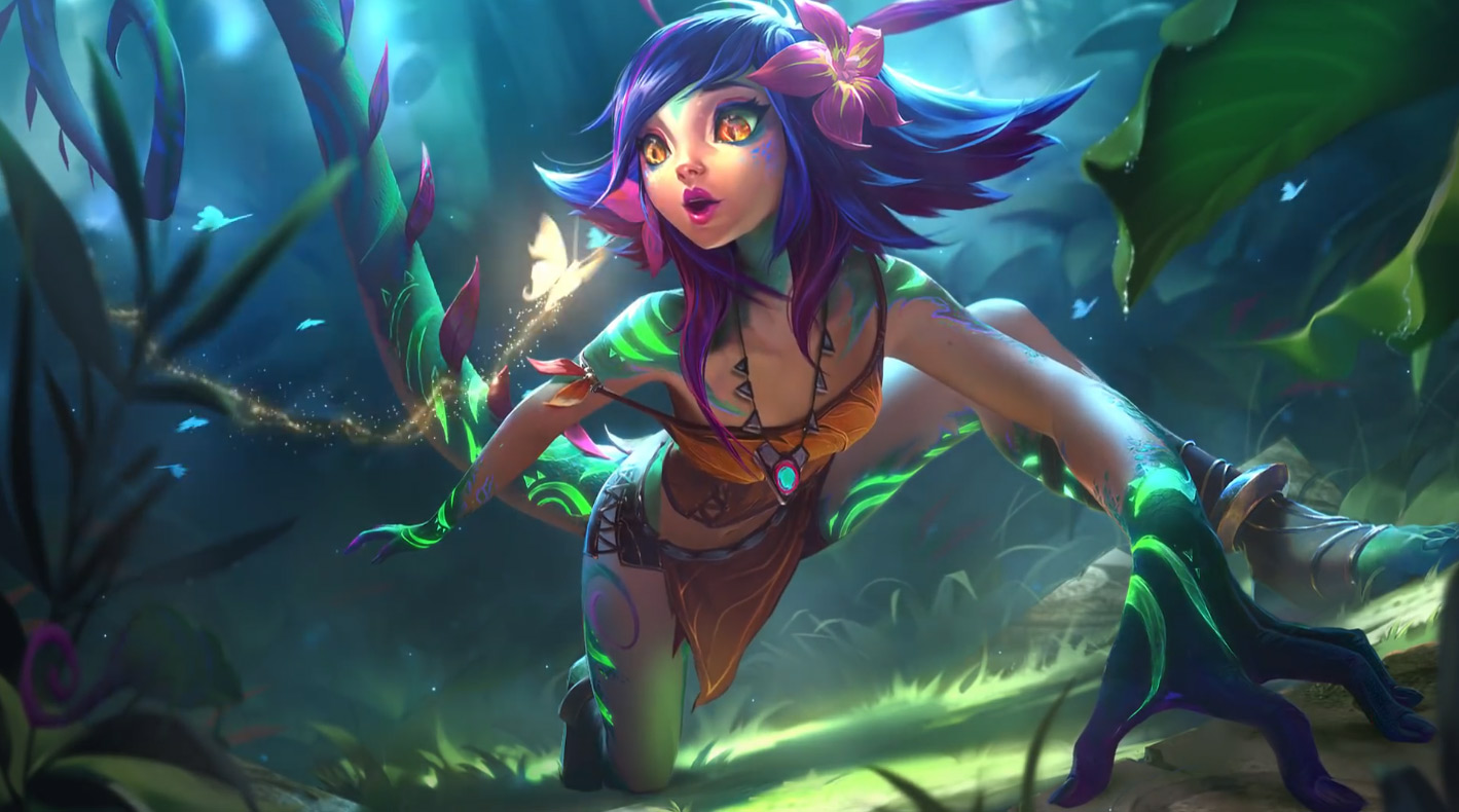 Neeko League Of Legends Animated Wallpaper