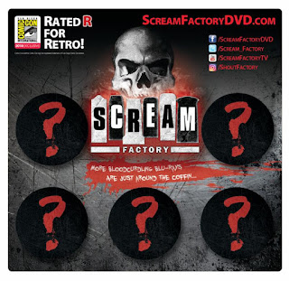 SDCC 2018 Shout Factory Button Packs