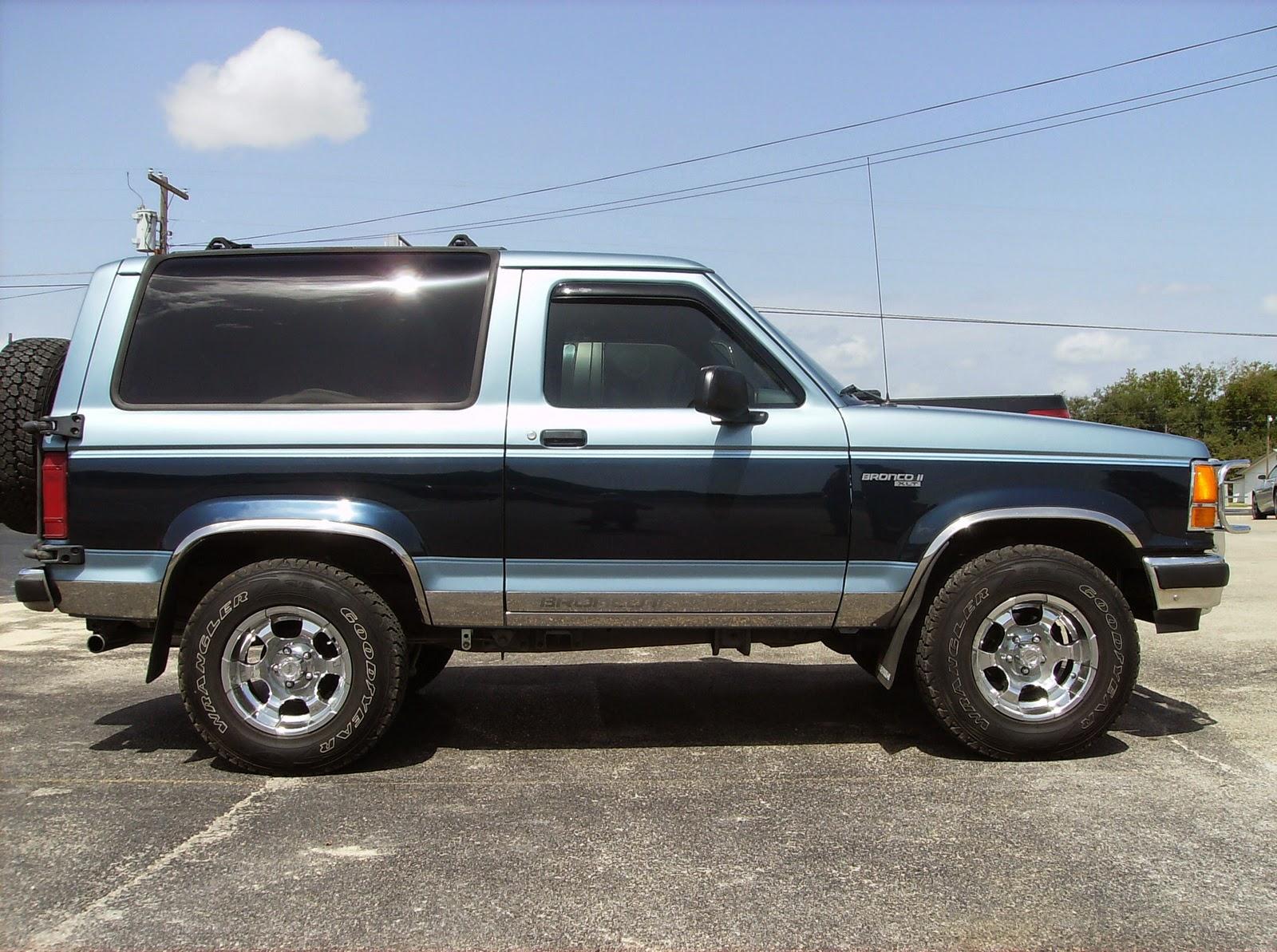 Spuds blog thirteenth vehicle 1985 ford bronco ii