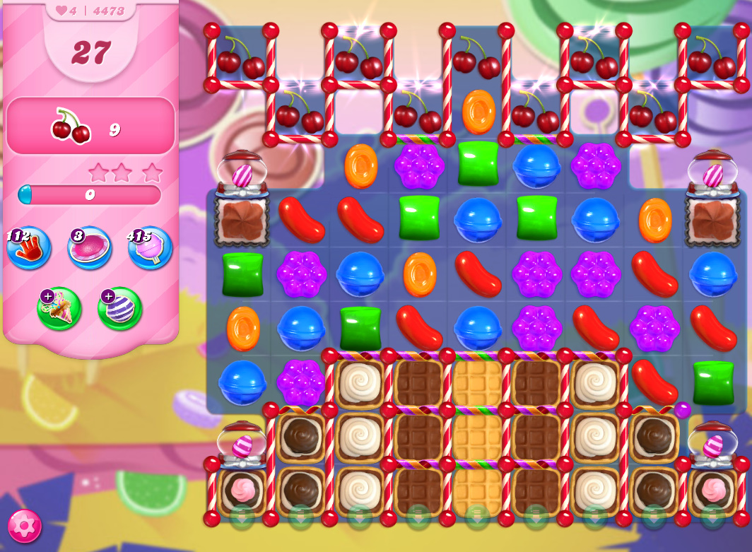 Candy Crush Saga level 4473