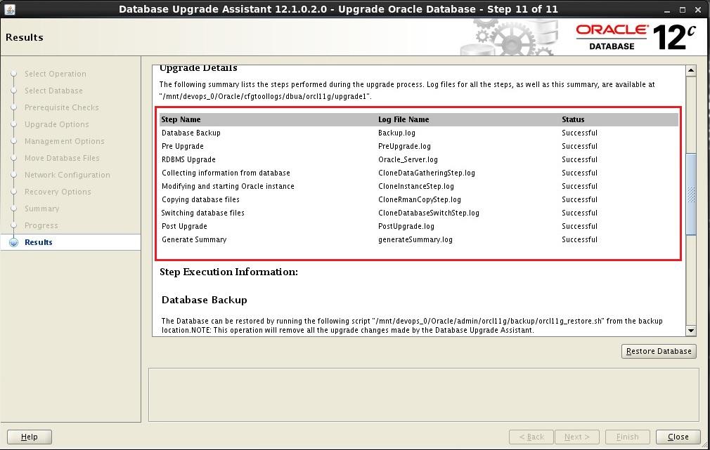 Lazy DBA: Upgrade Oracle Database 11g to 12c