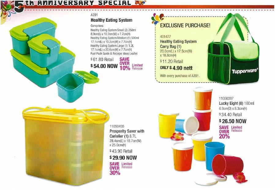 Tupperware Brands Online Order Catalogue Specials