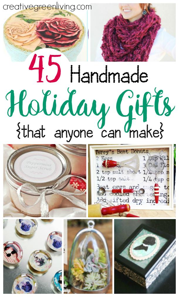 45 Handmade Christmas Presents for Mom - Gifts Anyone Can Make ...