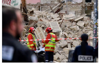 At least 4 found after building  collapses in Marseille,France