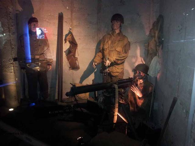 intérieur d'un bunker