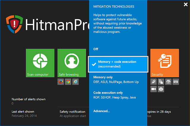 HitmanPro Alert 3.1.10 Build 373 Full Free