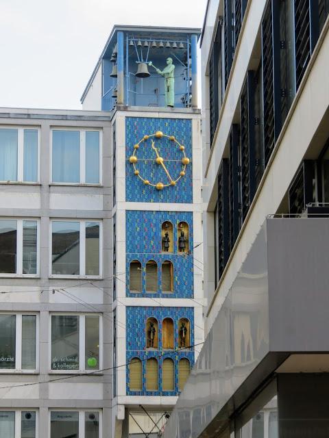The Glockenspiel am Deiterhaus in Essen Germany