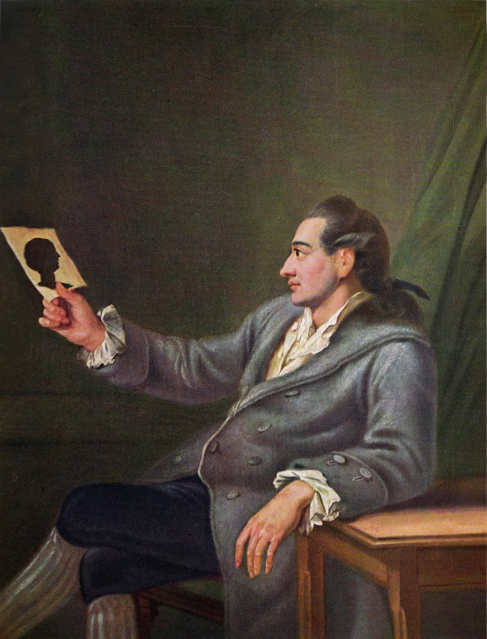 Johann Wolfgang von Goethe by Georg Melchior Kraus (1737-1806)