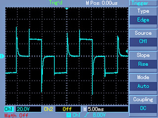 waveform showing when there's No PWM, no Load