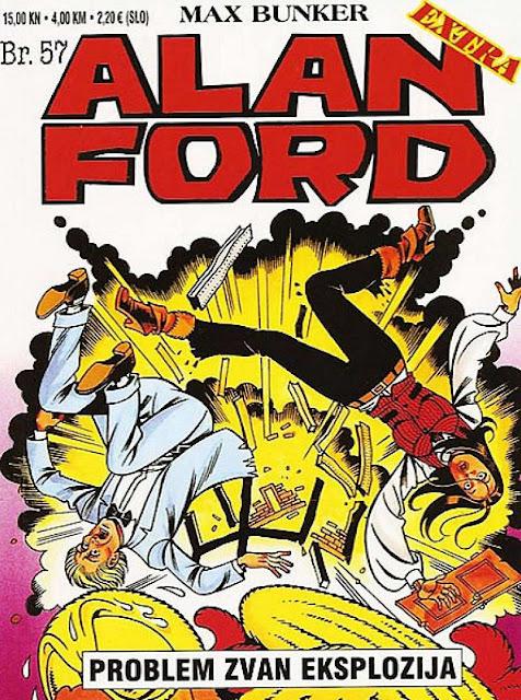 Problem zvan eksplozija - Alan Ford