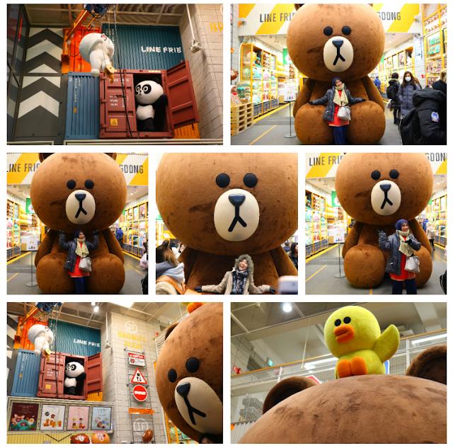 line store myeongdong