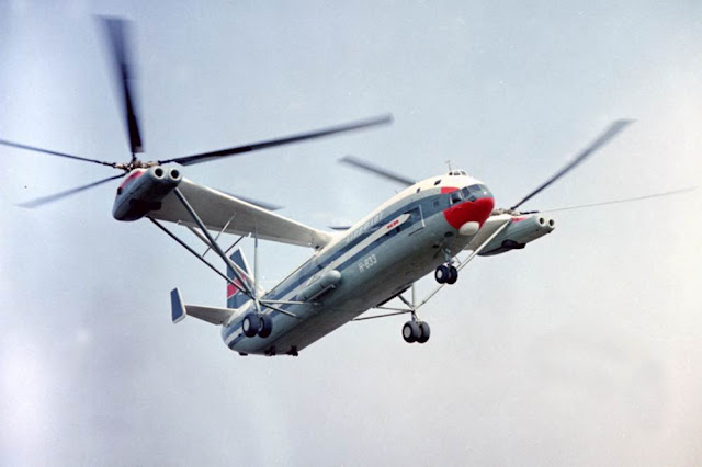 Mi-12 voando