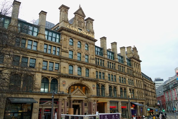 manchester central retail district corn exchange
