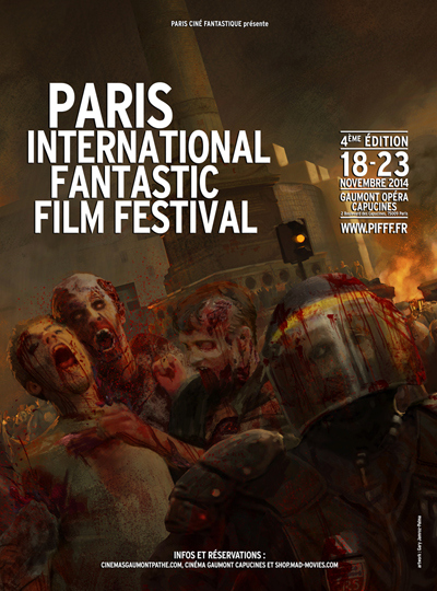 l'affiche du Paris International Fantastic film Festival
