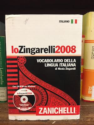 Lo Zingarelli 2008, vocabolario della lingua italiana di Nicola Zingarelli, Zanichelli
