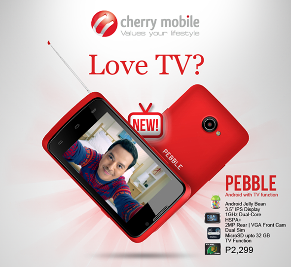 Cherry Mobile Pebble: Price, Specs and Availability
