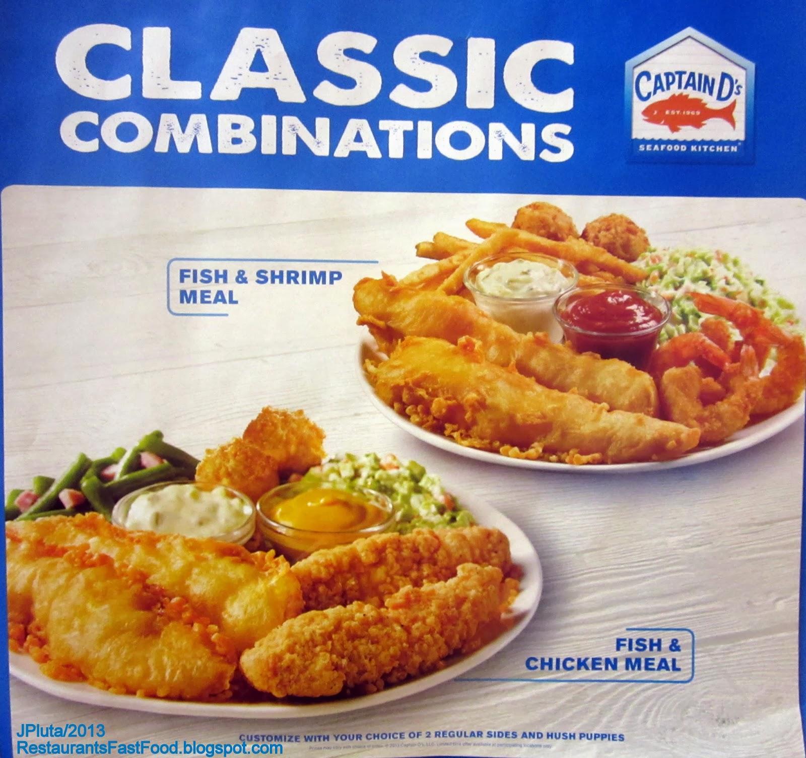 Captain D S Seafood Restaurant 1342 Gray Highway Macon Georgia Bibb 31211 Fast Food Fish Shrimp