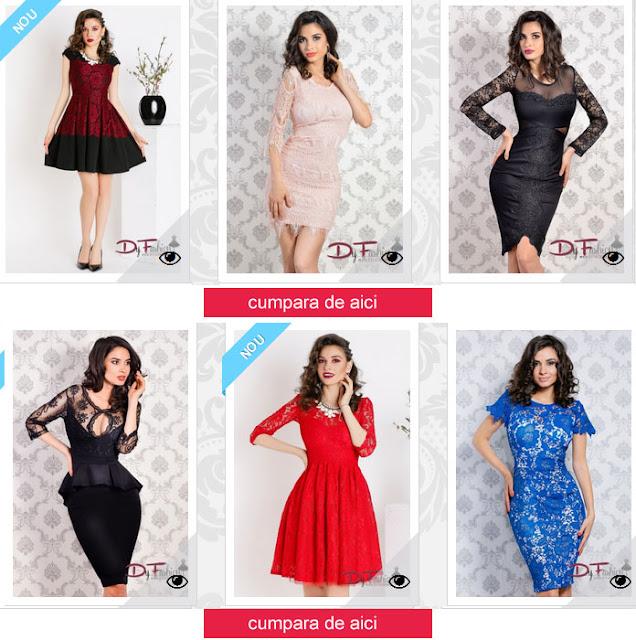 rochii elegnate online din dantela
