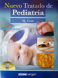 Nuevo Tratado De Pediatría M. Cruz - 2 Tomos y CD
