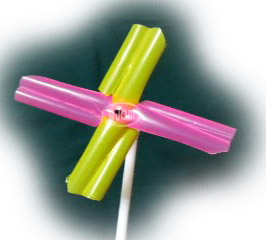 吸管风车玩具       Windrad Spielzeug    minum mainan kincir jerami