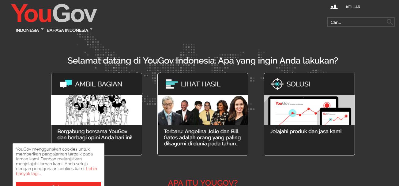 Survey Online YouGov Scam or Legit ? ~ akhirnya nemu