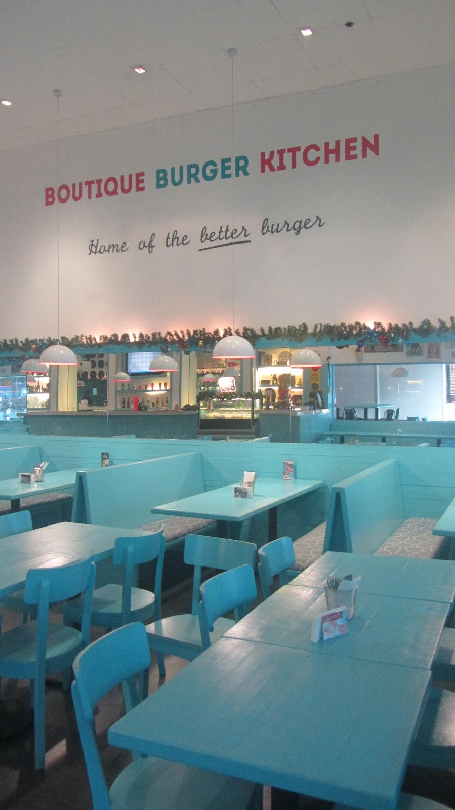 Boutique Burger Kitchen at The Fort Strip | walkandeat