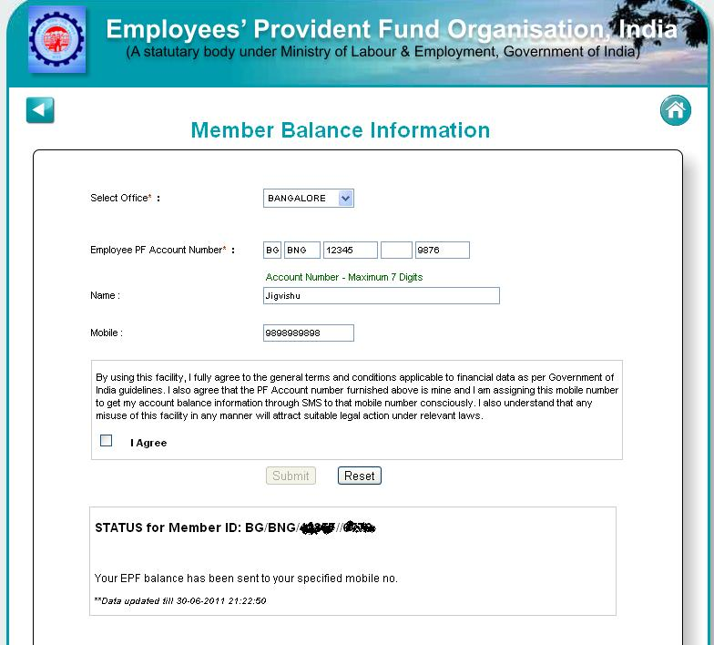 How to check pf amount online in india