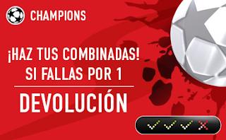 sportium Champions: Combinada 'con seguro' 10-11 abril