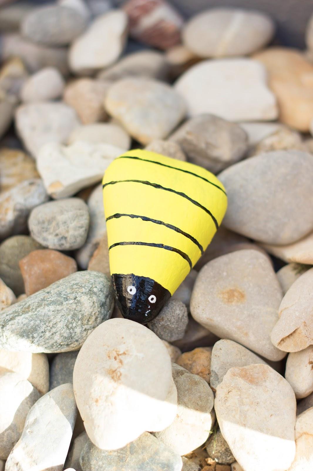 Hinguckerchen Insekten Diy Steine bemalen