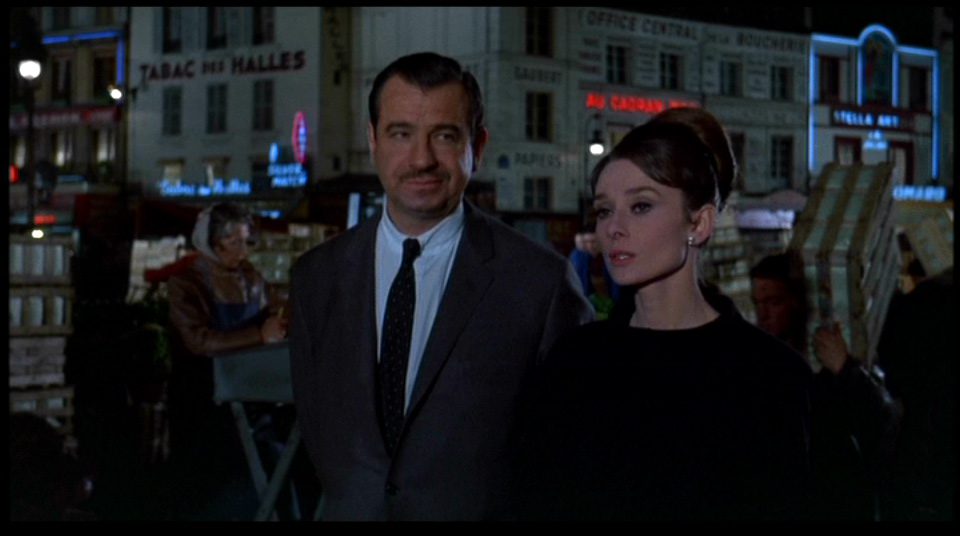 Movie Tourist Charade 1963