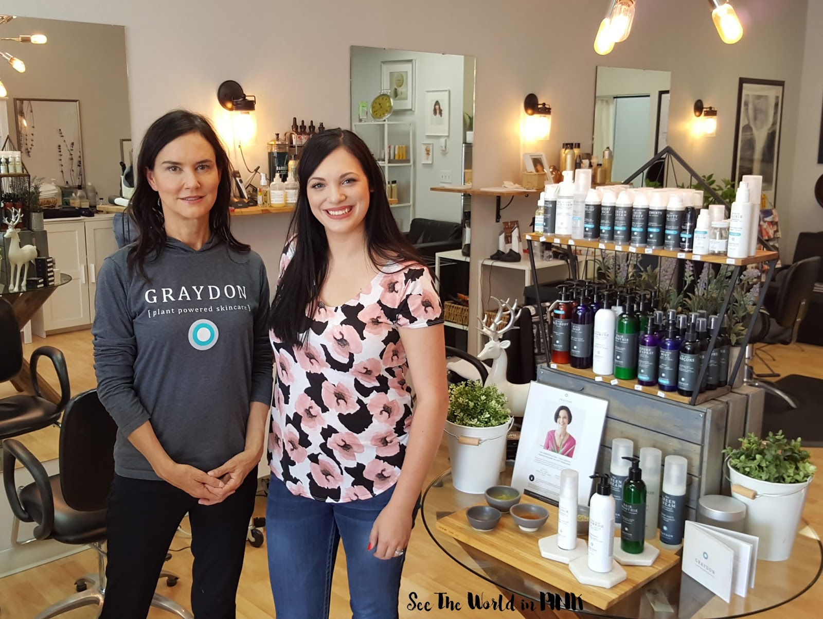 Graydon Plant Powered Skincare - Hair Event at Oak and Tonic, Calgary!