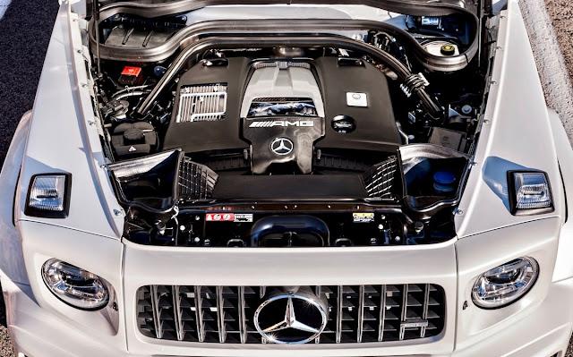 メルセデスベンツ AMG G63 新型 2018 エンジン