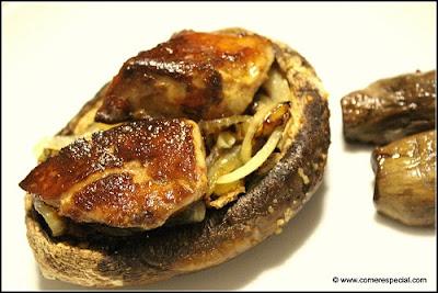 champiñones portobello al horno especial aperitivos y postres