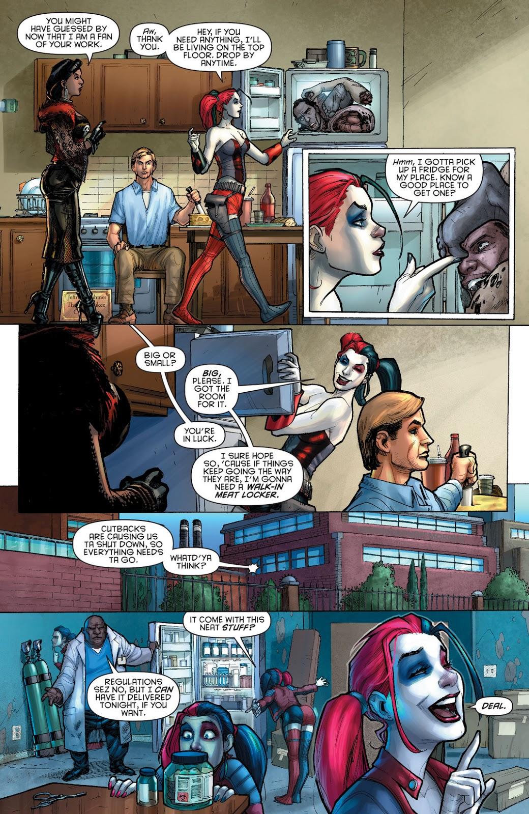 Cómic X Click: Harley Quinn [New 52] [Español] [Comic] [Mega]