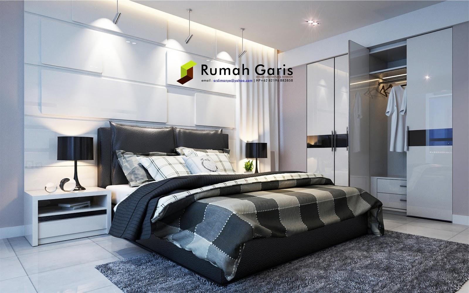 Desain Kamar Tidur 3 X 5 M
