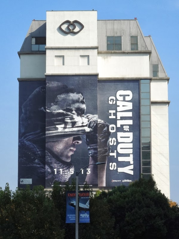 Call of Duty Ghosts billboard