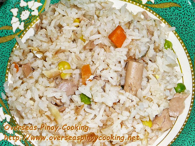 Tinapa Tuna Fried Rice