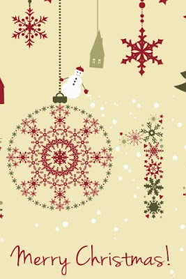 merry christmas 2016 android wallpaper 320x480