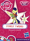 My Little Pony Wave 16A Fiddly Twang Blind Bag Card