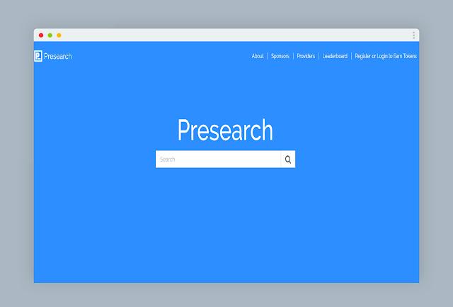 Presearch محرك البحث الجديد الذي Presearch+%D8%8C+%D9