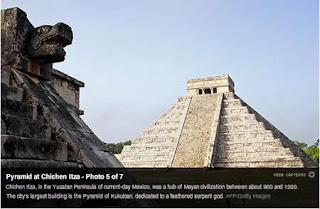 Pyramid at Chichen Itza