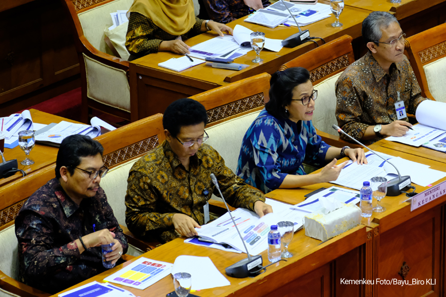 Rapat Pertama 2018 Pemerintah Dan Komisi XI DPR-RI