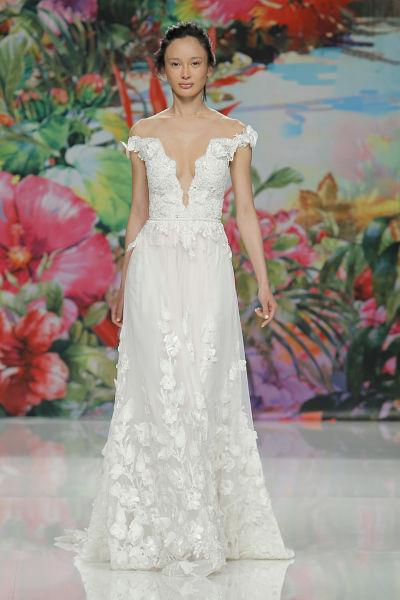 Vestido de novia de Galia Lahav para 2017