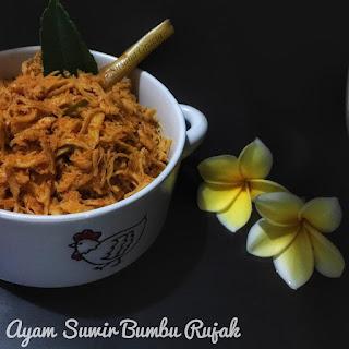 Ide Resep Masak Ayam Suwir Bumbu Rujak