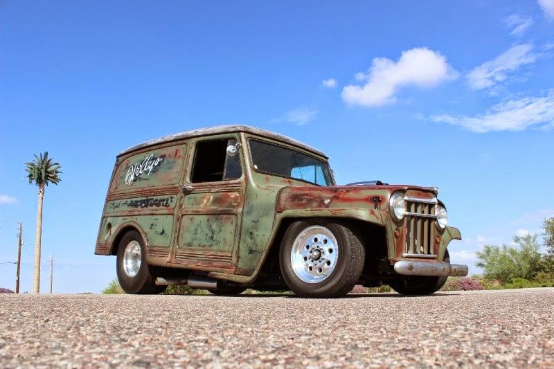 1948 Willys Pro Street Panel Wagon Auto Restorationice